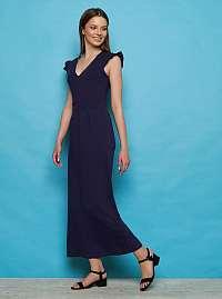 Tranquillo modré šaty Fiefie