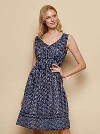 Tranquillo modré šaty Kelly
