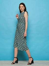 Tranquillo modré šaty Linette
