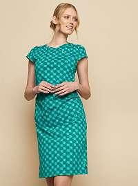 Tranquillo tyrkysové šaty Bira