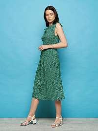 Tranquillo zelené šaty Isis