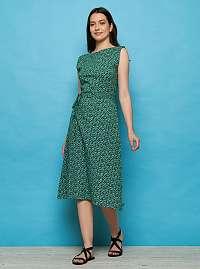 Tranquillo zelené šaty Sirana