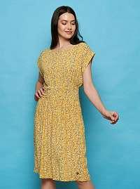 Tranquillo žlté letné šaty Sua