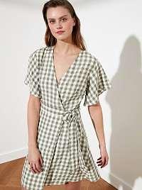 Trendyol béžové šaty