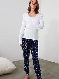Trendyol biele dámske pyžamo