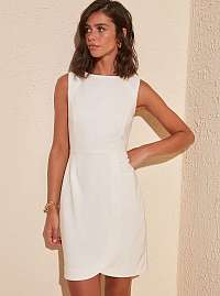 Trendyol biele elegantné šaty