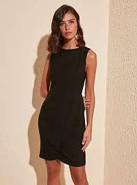 Trendyol čierne elegantné šaty