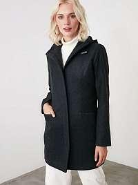 Trendyol čierne kabát