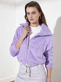 Trendyol fialové dámska mikina