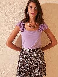 Trendyol fialové dámsky top