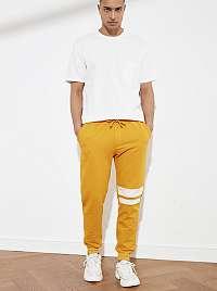 Trendyol oranžové pánske tepláky