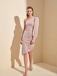 Trendyol ružové šaty