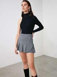 Trendyol sivé dámska sukňa