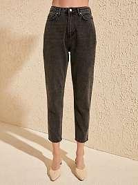 Trendyol sivé džínsy