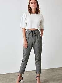 Trendyol sivé nohavice