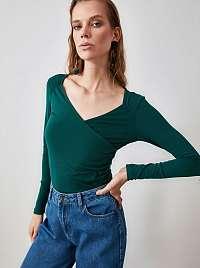Trendyol zelené dámske tričko