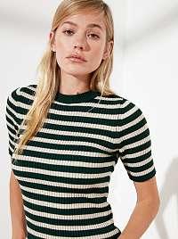 Trendyol zelené dámsky top