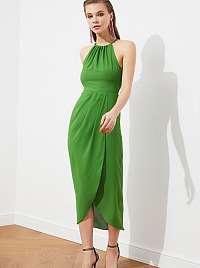 Trendyol zelené midi šaty