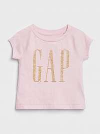 Tričko GAP Logo Ružová