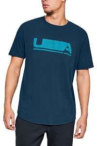 Under Armour modré pánske tričko Versa Tee - XL