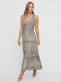 Vero Moda béžové maxi šaty Penny