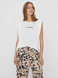 Vero Moda biele tričko Hollie