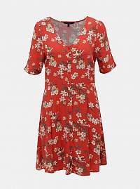 Vero Moda červené šaty Simply