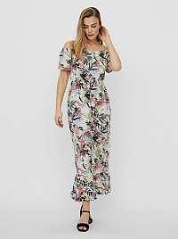Vero Moda farebné maxi šaty Phoebe