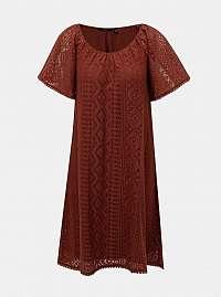 Vero Moda hnedé letné šaty Lea