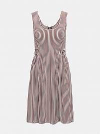Vero Moda hnedé šaty