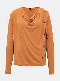 Vero Moda hnedé tričko Firenze