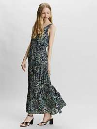 Vero Moda modré kvetované maxi šaty Hannah