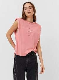 Vero Moda ružové tričko Hollie