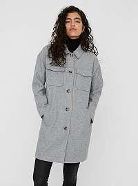 Vero Moda sivý ľahký kabát Dafne