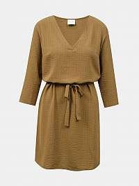 Vila hnedé šaty Lovie