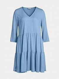Vila modré voľné šaty