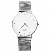 Vuch strieborné hodinky Audrey