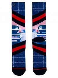 XPOOOS farebné pánske ponožky Chrome --46