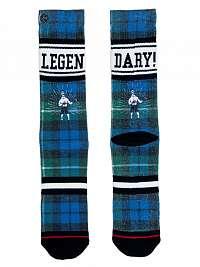 XPOOOS farebné pánske ponožky Legendary --46
