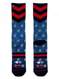 XPOOOS modré pánske ponožky Barney --46