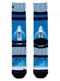 XPOOOS modré pánske ponožky Coastline --46