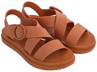 Zaxy oranžové sandále Street Sand Plat Fem Orange -