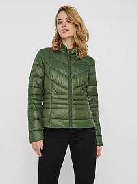 Zelená prešívaná zimná bunda VERO MODA