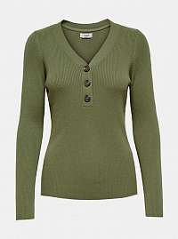Zelené tričko Jacqueline de Yong Melani