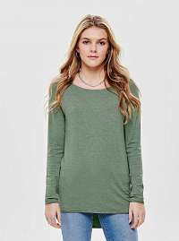 Zelený tenký basic sveter ONLY Mila