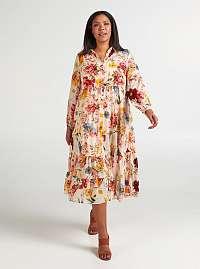 Zizzi béžové letné šaty