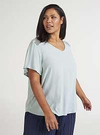 Zizzi modré dámske tričko