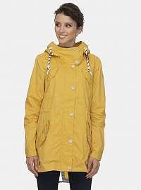 Žltá dámska parka Ragwear