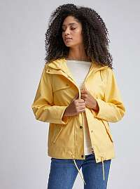 Žltá vodeodolná bunda Dorothy Perkins