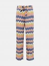 Žlto-modré vzorované nohavice ONLY Nova